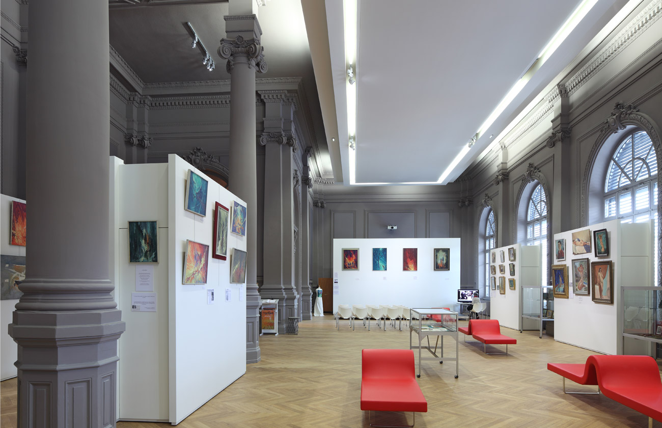 Gaillard Salle d'exposition Salle Gaillard Spectacle Clermont-Ferrand FR Architectes