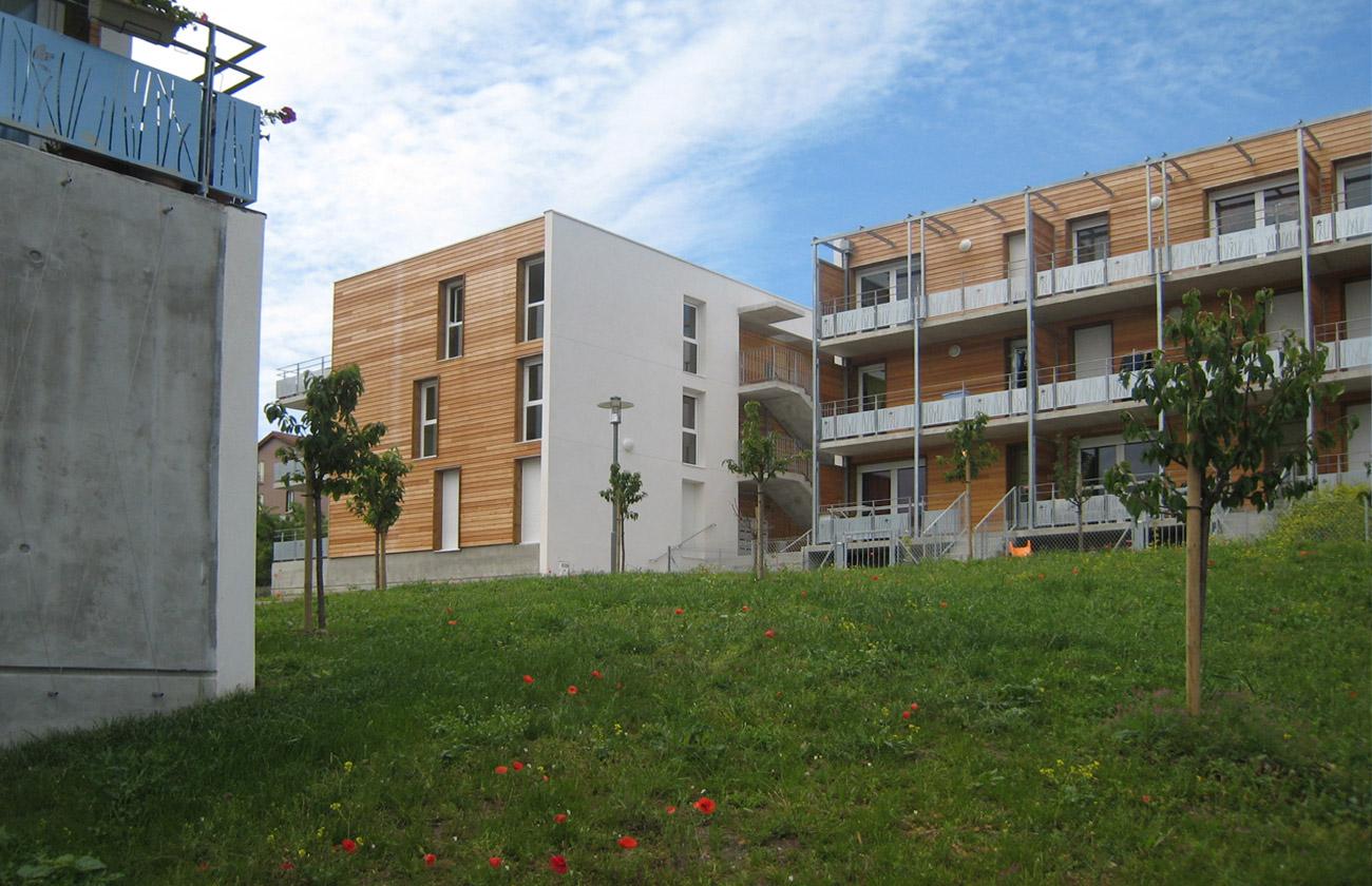 Chanturgue 53 logements – 1° Prix valeur d'exemple CAUE 2011